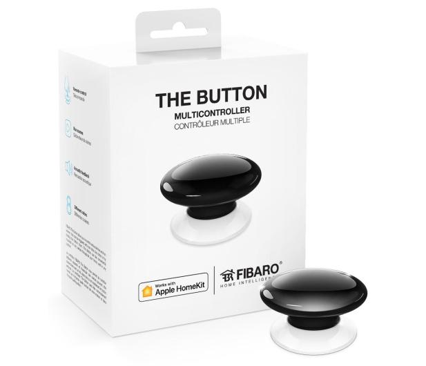 Fibaro The Button kontroler scen czarny (HomeKit) - 437990 - zdjęcie