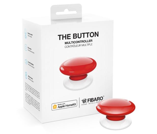 Fibaro The Button kontroler scen czerwony (HomeKit) - 437993 - zdjęcie