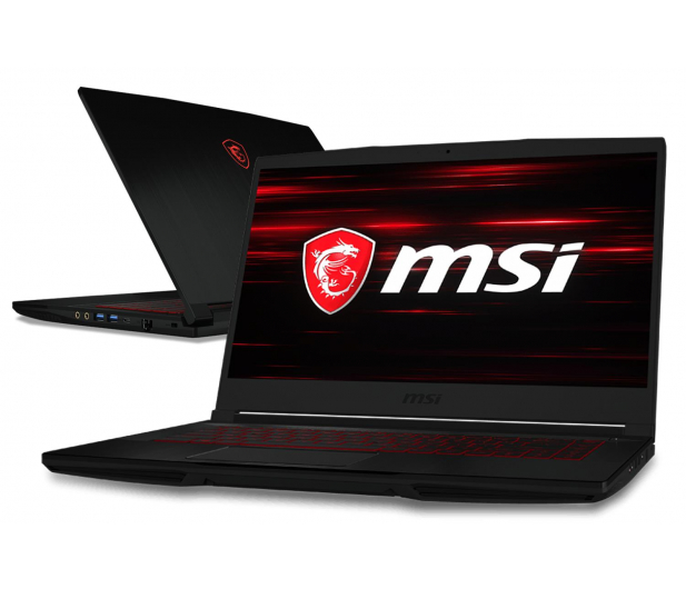 MSI GF63 i5-8300H/8GB/1TB GTX1050Ti IPS - 438744 - zdjęcie