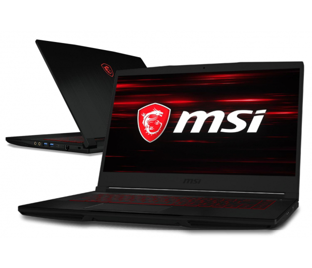 MSI GF63 i7-8750H/16GB/1TB+240 GTX1050Ti IPS  - 448059 - zdjęcie