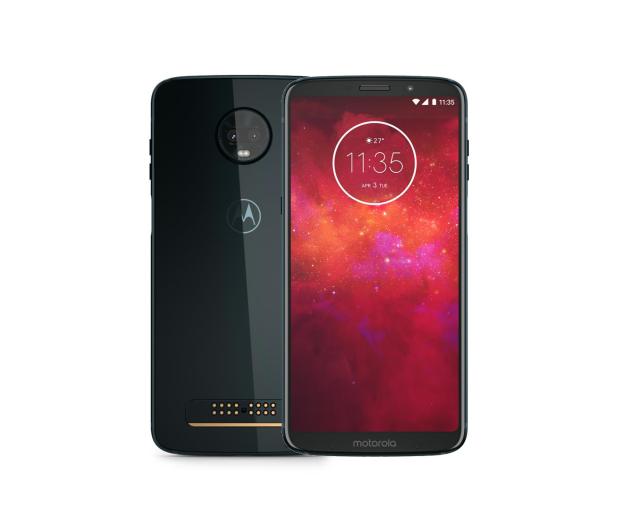 Motorola Moto Z3 Play 4/64GB Dual SIM granatowy +power pack - 439250 - zdjęcie