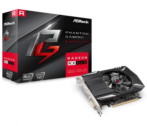 ASRock Radeon RX 560 Phantom Gaming 4GB GDDR5 - 439951 - zdjęcie