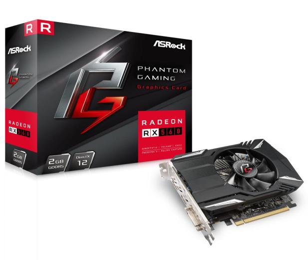 ASRock Radeon RX 560 Phantom Gaming 2GB GDDR5 - 439952 - zdjęcie