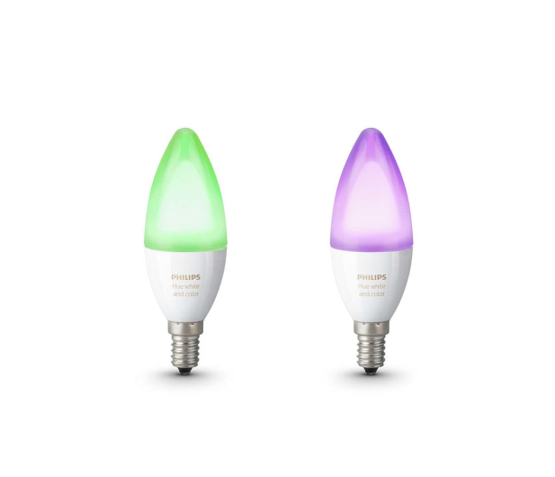 Philips Hue White and Color Ambiance (2szt. E14 6,5W) - 435804 - zdjęcie