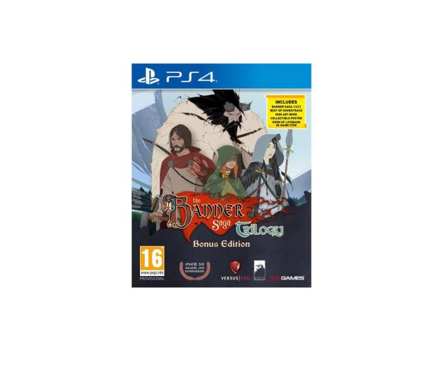 Stoic The Banner Saga Trilogy: Bonus Edition - 440034 - zdjęcie