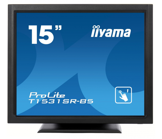 iiyama T1531SR dotykowy czarny  - 440234 - zdjęcie 2