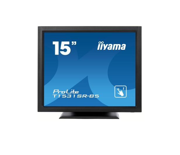 iiyama T1531SR-B5 dotykowy czarny  - 440234 - zdjęcie