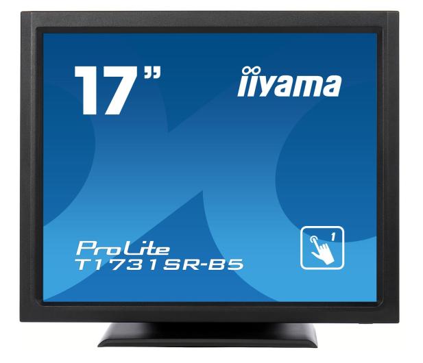 iiyama T1731SR-B5 dotykowy czarny - 440236 - zdjęcie 3