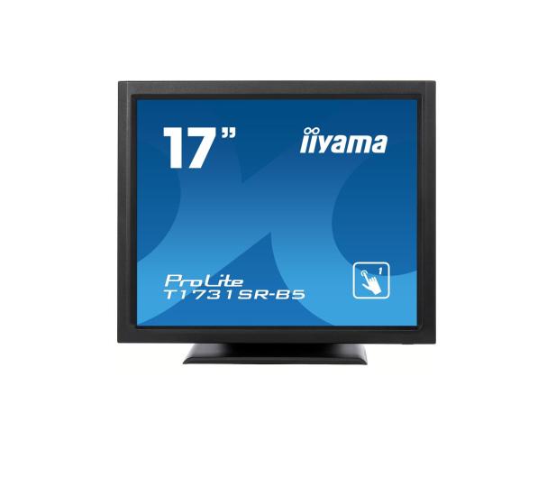 iiyama T1731SR-B5 dotykowy czarny - 440236 - zdjęcie
