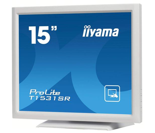 iiyama T1531SR-W5 dotykowy biały - 440237 - zdjęcie 3