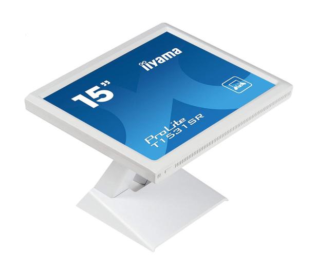 iiyama T1531SR-W5 dotykowy biały - 440237 - zdjęcie 5