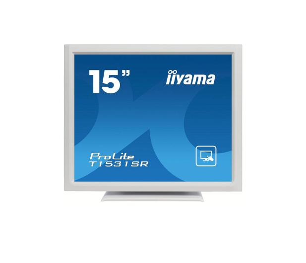iiyama T1531SR-W5 dotykowy biały - 440237 - zdjęcie
