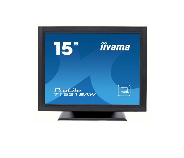 iiyama T1531SAW-B5 dotykowy czarny - 440244 - zdjęcie