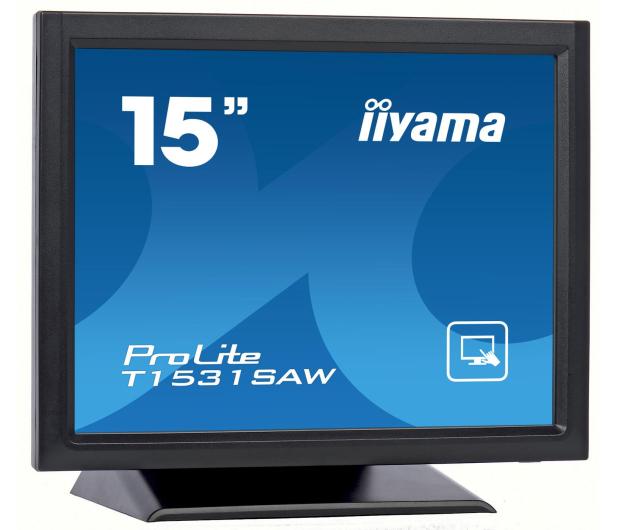 iiyama T1531SAW-B5 dotykowy czarny - 440244 - zdjęcie 2