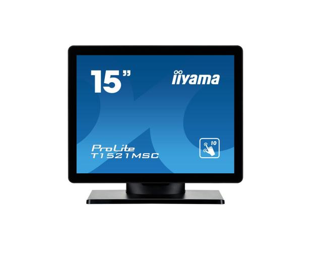iiyama T1521MSC-B1 dotykowy - 440248 - zdjęcie