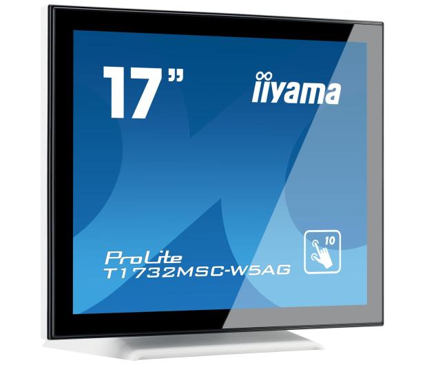 iiyama T1732MSC-W5AG dotykowy biały - 440411 - zdjęcie 2