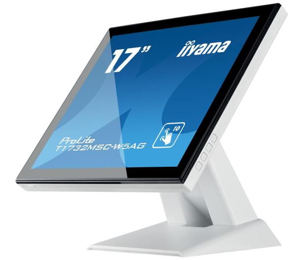 iiyama T1732MSC-W5AG dotykowy biały - 440411 - zdjęcie 5