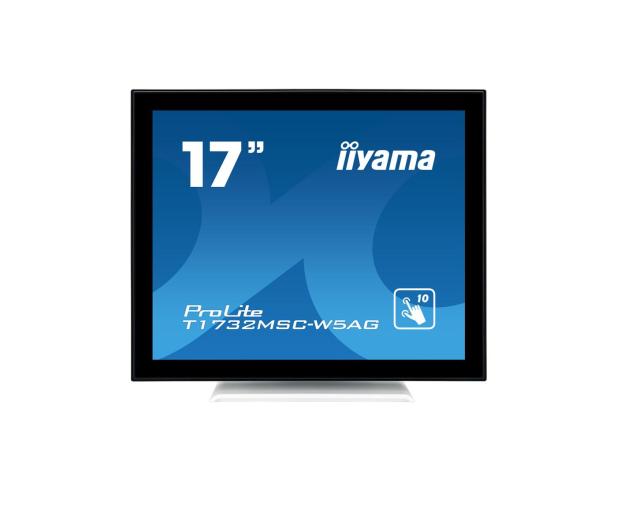 iiyama T1732MSC-W5AG dotykowy biały - 440411 - zdjęcie