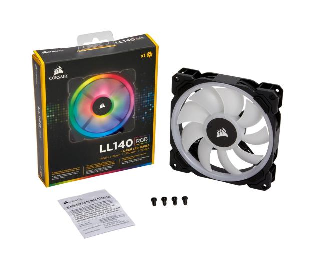 Corsair LL140 RGB LED Static Pressure 140 mm PWM - 398975 - zdjęcie 4