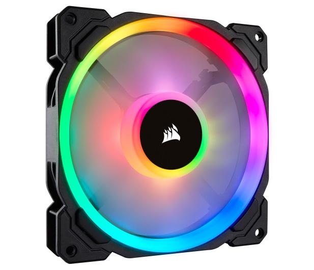 Corsair LL140 RGB LED Static Pressure 140 mm PWM - 398975 - zdjęcie