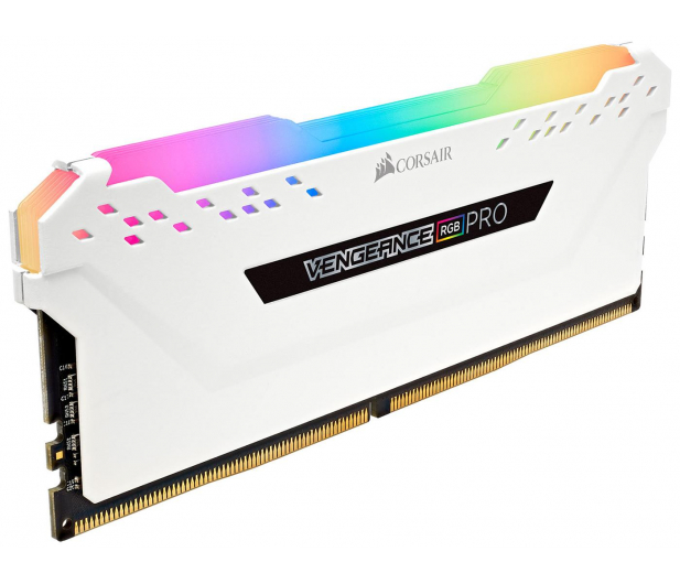 Corsair 64GB (8x8GB) 3200MHz CL16 Vengeance RGB PRO White  - 440964 - zdjęcie 3