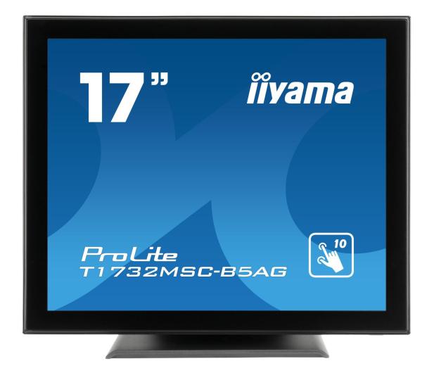 iiyama T1732MSC-B5AG dotykowy czarny  - 440409 - zdjęcie 8