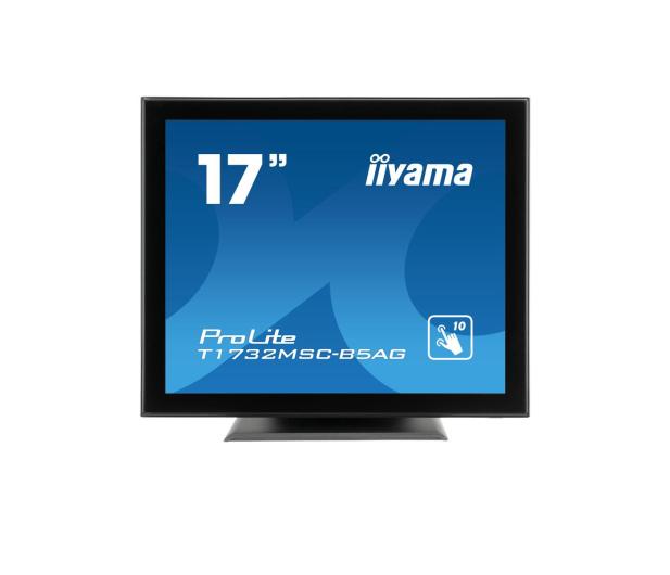 iiyama T1732MSC-B5AG dotykowy czarny  - 440409 - zdjęcie
