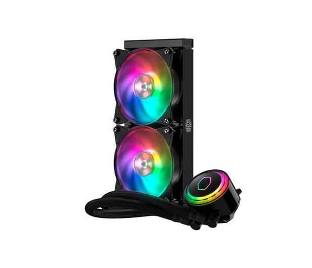 Cooler Master MasterLiquid ML240R RGB 2x120mm - 438147 - zdjęcie 3