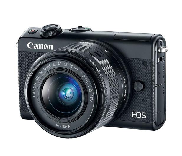 Canon EOS M100 EF-M 15-45mm IS STM czarny + Irista 50GB - 440424 - zdjęcie 2