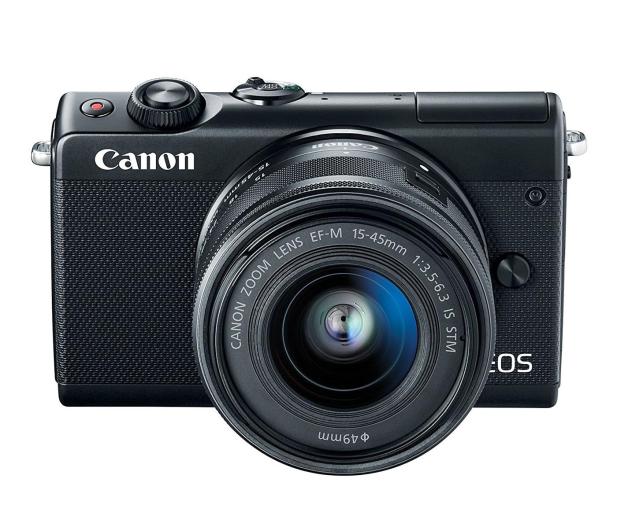 Canon EOS M100 EF-M 15-45mm IS STM czarny + Irista 50GB - 440424 - zdjęcie