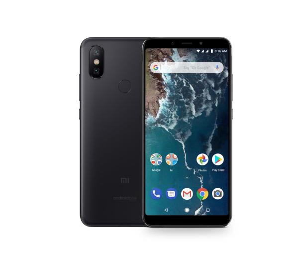 Xiaomi Mi A2 6/128GB Black  - 437490 - zdjęcie