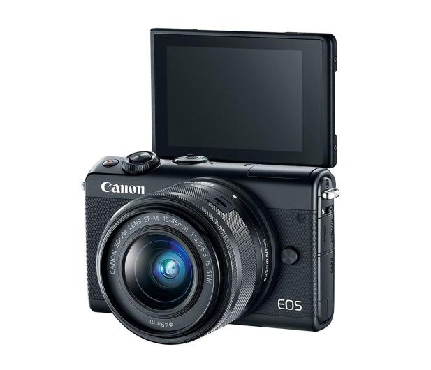 Canon EOS M100 EF-M 15-45mm IS STM czarny + Irista 50GB - 440424 - zdjęcie 5