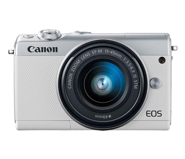 Canon EOS M100 EF-M 15-45mm IS STM biały + Irista 50GB - 440426 - zdjęcie 8