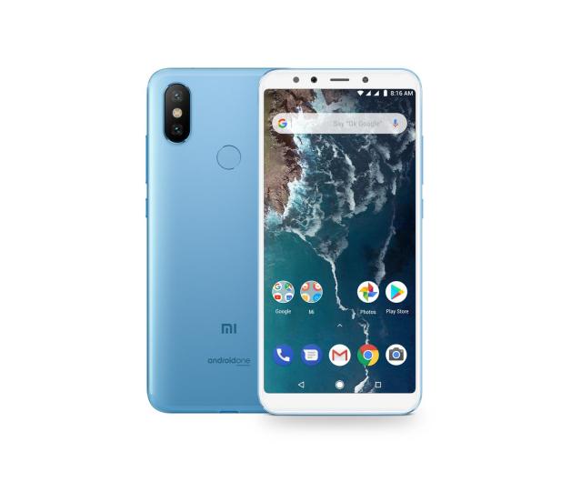 Xiaomi Mi A2 4/64GB Blue  - 440604 - zdjęcie 1