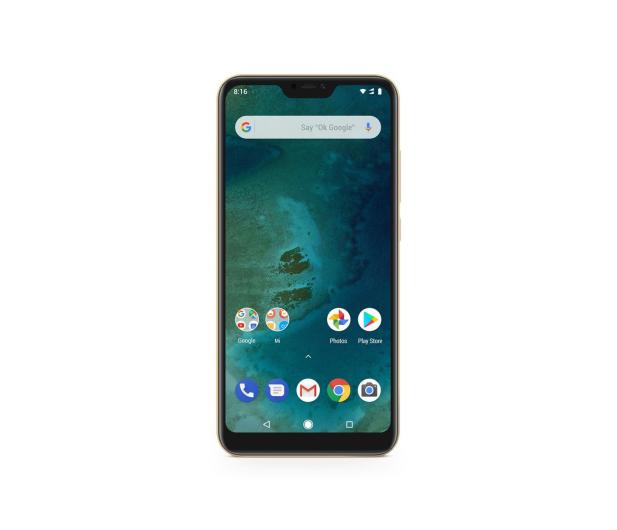 Xiaomi Mi A2 Lite 4/64GB Gold - 437483 - zdjęcie 2