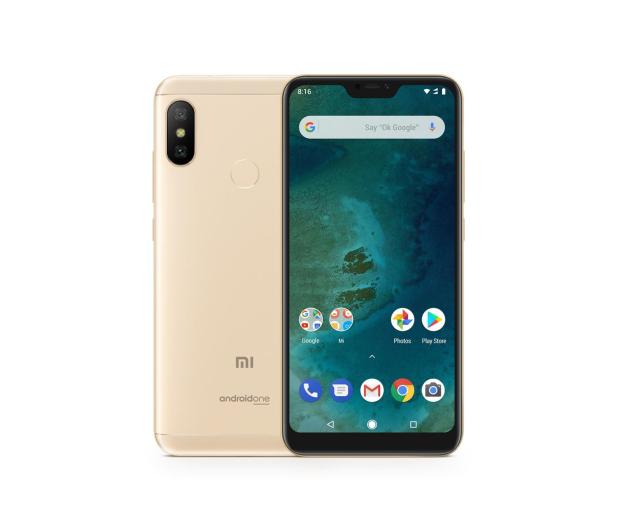 Xiaomi Mi A2 Lite 4/64GB Gold - 437483 - zdjęcie
