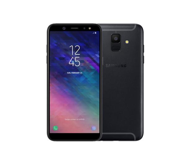Samsung Galaxy A6 A600F 2018 3/32GB Dual SIM Black - 423911 - zdjęcie