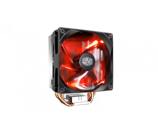 Cooler Master Master Hyper 212 czerwony 120mm - 438228 - zdjęcie