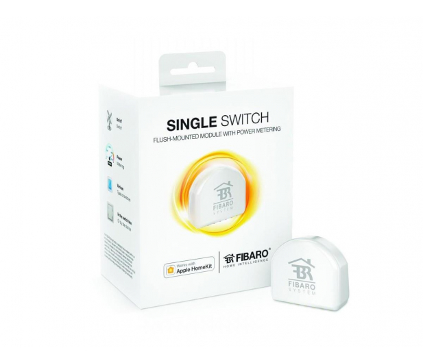 Fibaro Single Switch 2 (HomeKit) - 437997 - zdjęcie 1