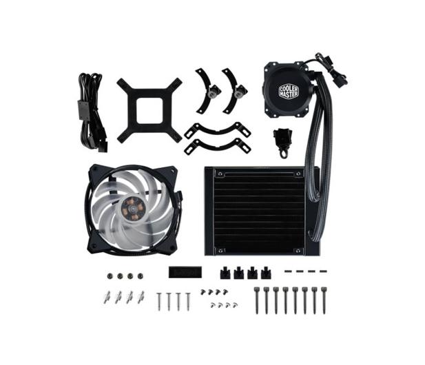 Cooler Master MasterLiquid Lite 120L RGB 120mm - 438142 - zdjęcie 7