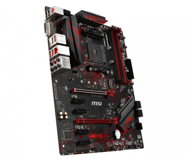 MSI B450 GAMING PLUS - 441257 - zdjęcie 3