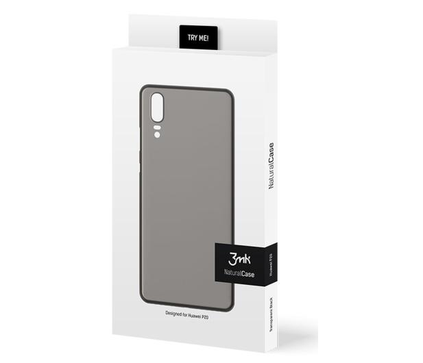 3mk Natural Case do Huawei P20 Black - 435819 - zdjęcie