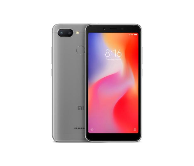 Xiaomi Redmi 6 3/32GB Dual SIM LTE Grey - 437408 - zdjęcie