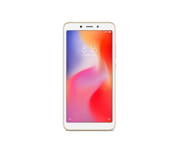 Xiaomi Redmi 6 3/32GB Dual SIM LTE Gold - 437414 - zdjęcie 3