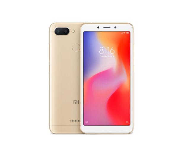 Xiaomi Redmi 6 3/32GB Dual SIM LTE Gold - 437414 - zdjęcie