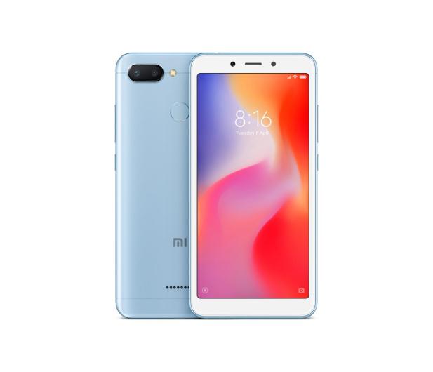 Xiaomi Redmi 6 3/32GB Dual SIM LTE Blue - 437416 - zdjęcie
