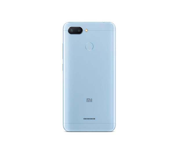 Xiaomi Redmi 6 3/64GB Dual SIM LTE Blue   - 437420 - zdjęcie 3