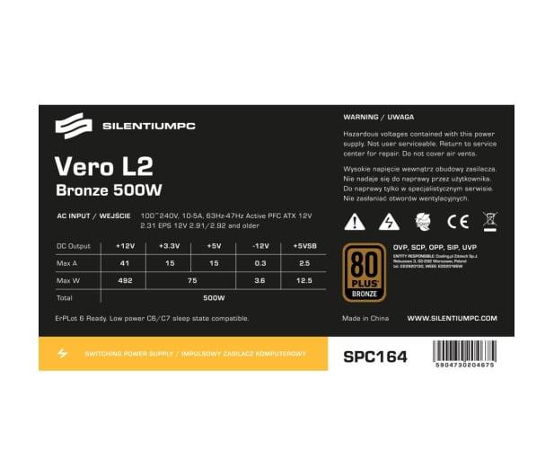 SilentiumPC 500W Vero L2 Bronze - 364861 - zdjęcie 7