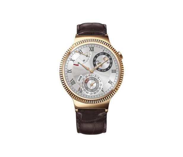 Huawei Watch Golden + Brown Leather - 285625 - zdjęcie 2