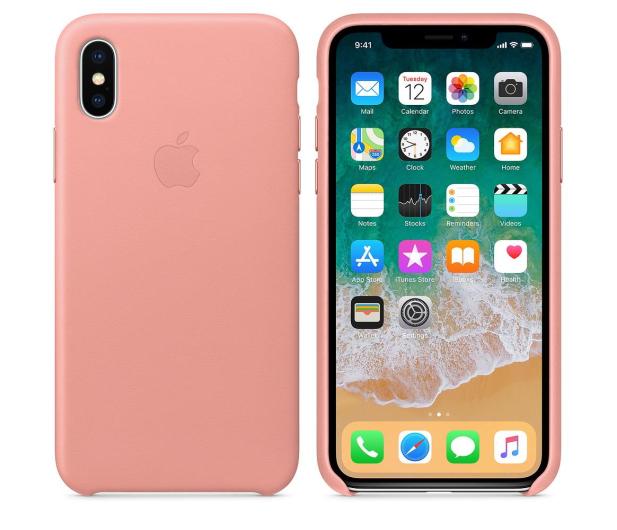 apple leather iphone x case